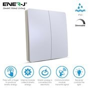 ENER WS1025 Wireless Dimmable 2G Switch