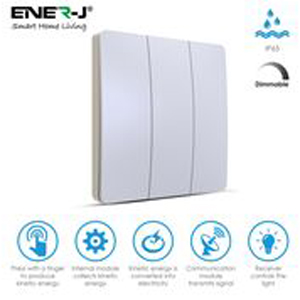 ENER WS1035 Wirels Dimmable 3 Gang Sw